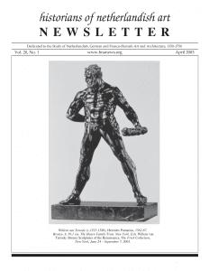 April 2003 Newsletter