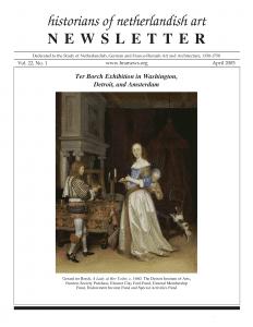 April 2005 Newsletter